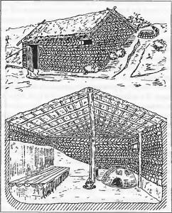 Хазарское жилище